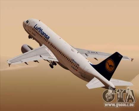 Airbus A319-100 Lufthansa pour GTA San Andreas