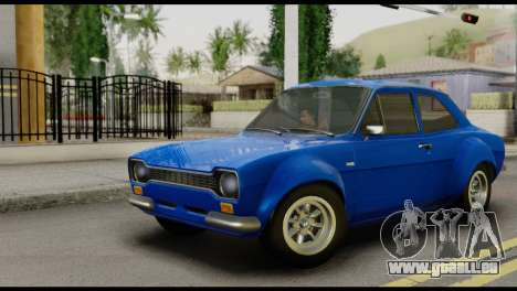Ford Escort Mark 1 1970 pour GTA San Andreas