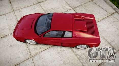 Ferrari Testarossa 1986 v1.2 [EPM] für GTA 4 rechte Ansicht