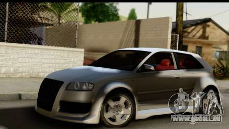 Audi A3 Tuning pour GTA San Andreas