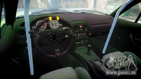 Mazda MX-7 pour GTA 4 est une vue de l'intérieur