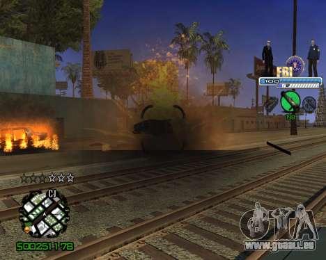 C-HUD FBI pour GTA San Andreas quatrième écran