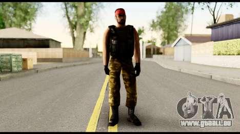 Counter Strike Skin 1 für GTA San Andreas