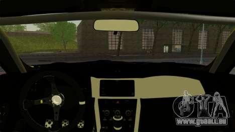 Subaru BRZ Drift Built für GTA San Andreas zurück linke Ansicht