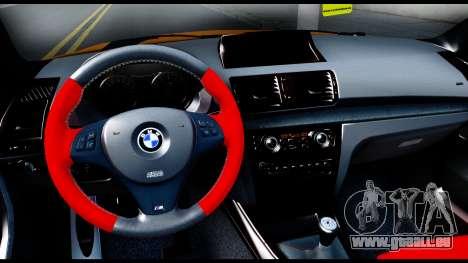 BMW M1 für GTA San Andreas Innenansicht