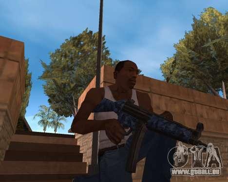 Nouvel An Pack d'Armes pour GTA San Andreas deuxième écran