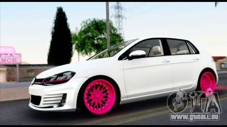 Volkswagen Golf 7 pour GTA San Andreas