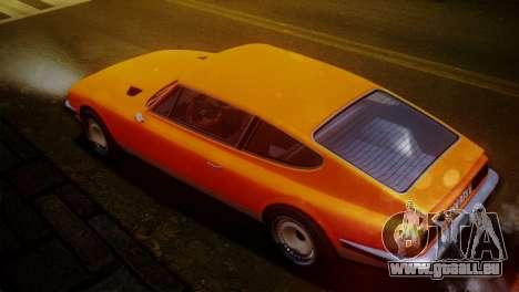 GTA 5 Lampadati Pigalle SA Plate pour GTA San Andreas laissé vue