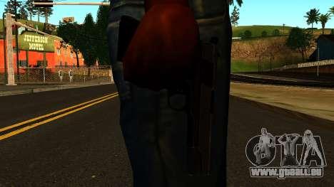 Colt 1911 from Battlefield 3 pour GTA San Andreas troisième écran