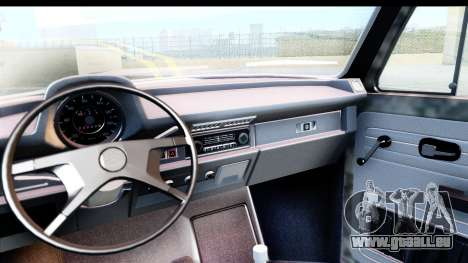 Volkswagen Beetle Vosvos 1973 pour GTA San Andreas vue de droite