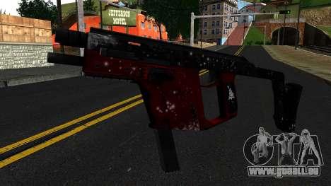 Weihnachten MP5 für GTA San Andreas