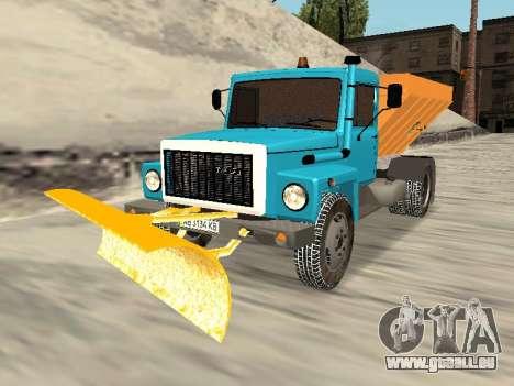 GAZ 3309 Schnee für GTA San Andreas