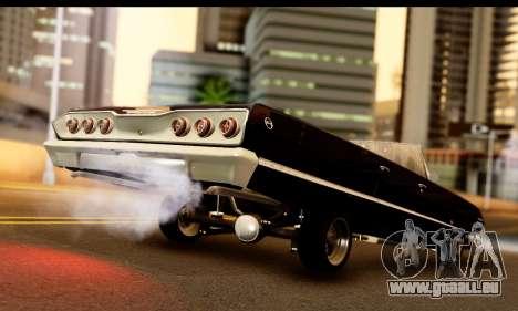 Chevrolet Impala 1963 für GTA San Andreas linke Ansicht