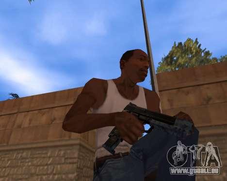 Nouvel An Pack d'Armes pour GTA San Andreas quatrième écran