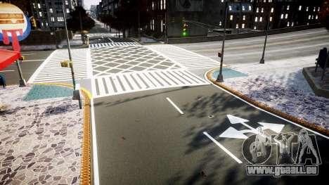 La Texture des routes en haute définition 2014 v pour GTA 4 quatrième écran