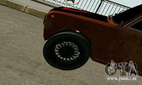 VAZ 2101 Ratlook v2 für GTA San Andreas Rückansicht