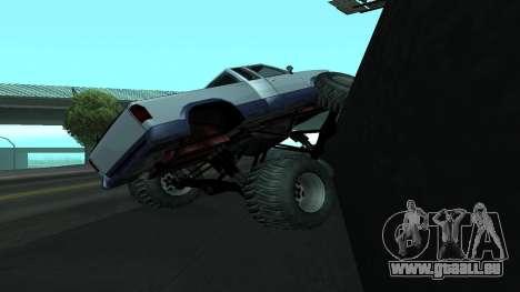 Die neue Physik des Autos v2 für GTA San Andreas her Screenshot