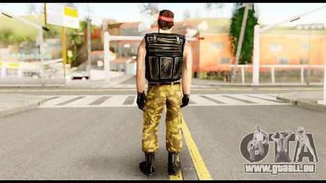 Counter Strike Skin 1 für GTA San Andreas zweiten Screenshot