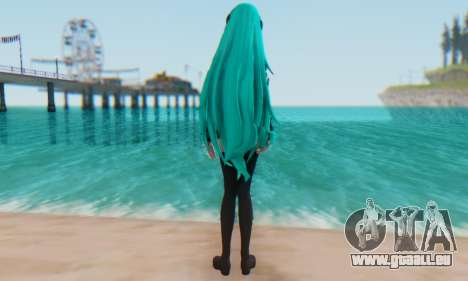 Miku Hatsune MMD pour GTA San Andreas deuxième écran