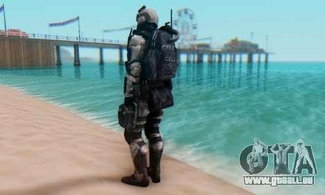 C.E.L.L. Soldier (Crysis 2) pour GTA San Andreas troisième écran
