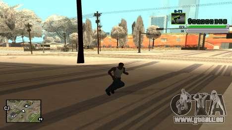 C-HUD v5.0 pour GTA San Andreas cinquième écran