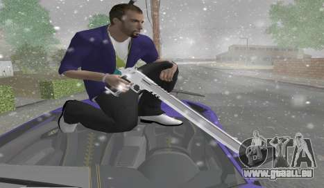 Long Desert Eagle pour GTA San Andreas