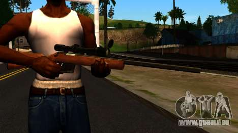 Rifle from GTA 4 für GTA San Andreas dritten Screenshot