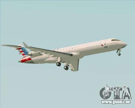 Bombardier CRJ700 American Eagle Airlines pour GTA San Andreas vue de droite