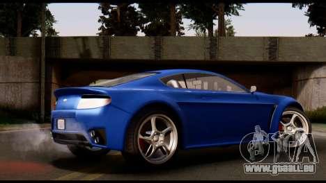 GTA 5 Dewbauchee Rapid GT Coupe [HQLM] pour GTA San Andreas laissé vue