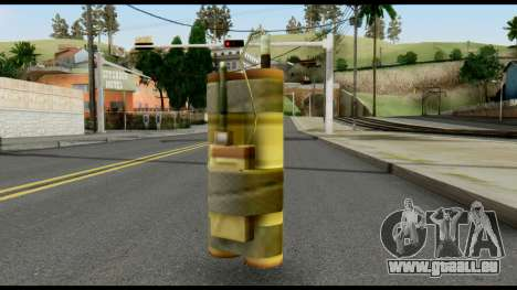 TNT from Metal Gear Solid pour GTA San Andreas