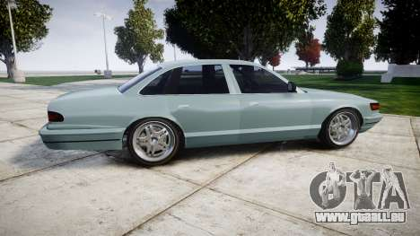 Vapid Stanier Little Rims für GTA 4 linke Ansicht