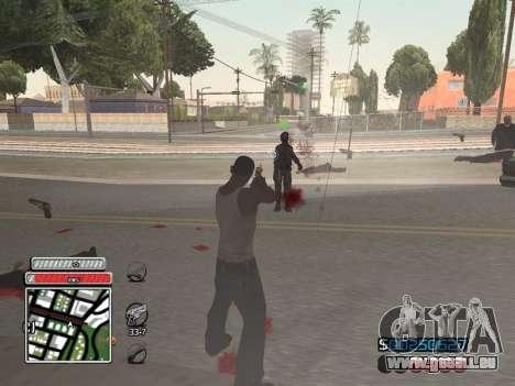 C-HUD Unique v4.1 für GTA San Andreas fünften Screenshot
