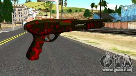 Shotgun with Blood pour GTA San Andreas deuxième écran