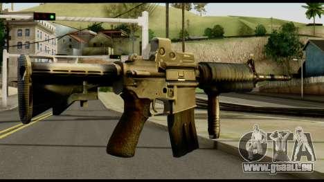 SOPMOD from Metal Gear Solid v2 für GTA San Andreas zweiten Screenshot