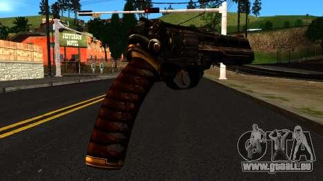 Pistol from Shadow Warrior für GTA San Andreas zweiten Screenshot