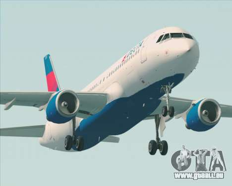 Airbus  A320-200 Delta Airlines pour GTA San Andreas roue