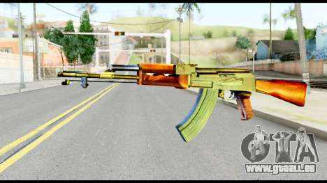 AK47 from Metal Gear Solid pour GTA San Andreas