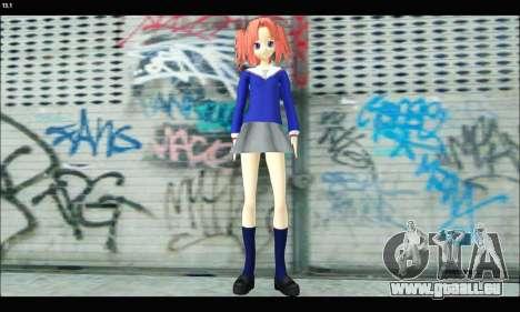 Kobeni Yonomori (Mikakunin de Shinkoukei) für GTA San Andreas zweiten Screenshot