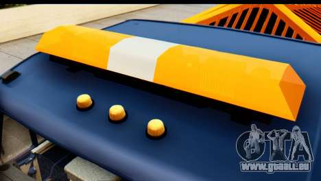 KamAZ 65115 Souffleuse À Neige pour GTA San Andreas vue intérieure