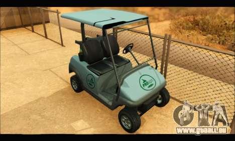 Caddy (GTA V) pour GTA San Andreas