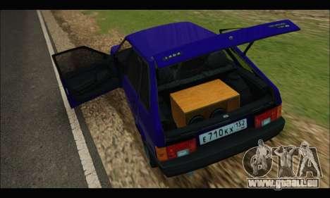 VAZ 2109 BPAN pour GTA San Andreas vue de droite