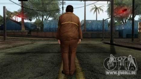 GTA 4 Skin 58 pour GTA San Andreas deuxième écran