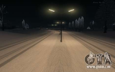 Snow Mod pour GTA San Andreas