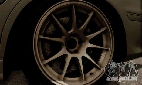 Toyota Mark 2 pour GTA San Andreas sur la vue arrière gauche