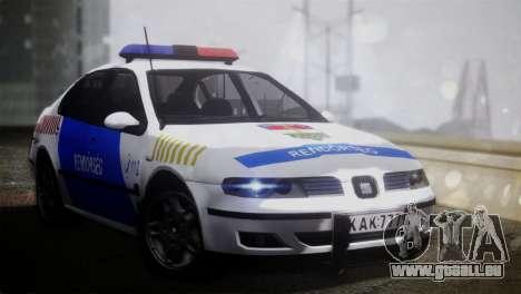 Seat Toledo 1999 Police für GTA San Andreas