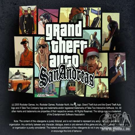 Radio-russischer ROCK für GTA San Andreas
