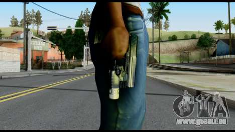 USP from Metal Gear Solid für GTA San Andreas dritten Screenshot