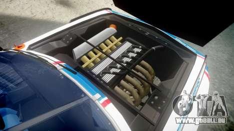 BMW 3.0 CSL Group4 [93] für GTA 4 Rückansicht