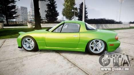 Mazda MX-7 für GTA 4 linke Ansicht