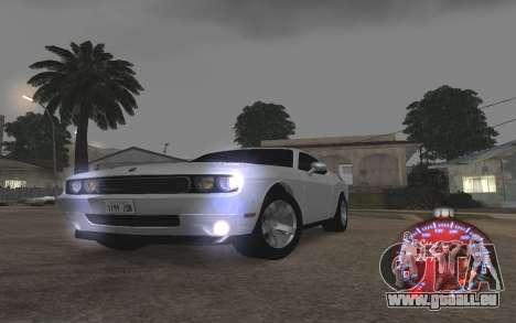 Noël de l'indicateur de vitesse de 2015 pour GTA San Andreas quatrième écran